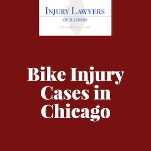 Bike Injury Cases in Chicago
